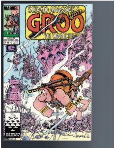 Sergio Aragone's Groo the Wanderer #19 (1986)