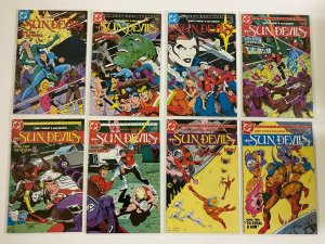Sun Devils set from:#1-12 DC 12 different books 8.0 VF (1984 to 1985)