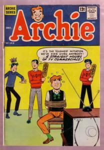 ARCHIE #142-1963-BETTY & VERONICA-JUGHEAD-TV SET COVER! VG