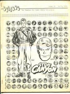 Bulldog #5 1974-Steve Canyon-Milton Caniff-comic strip collectors-VG/FN