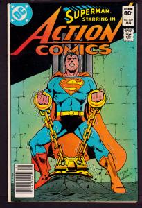 Action Comics #539    7.5 VF-