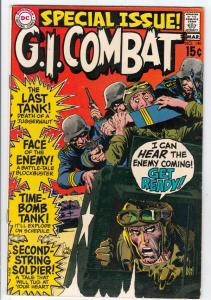 G.I. Combat #140 (Mar-70) NM- High-Grade The Haunted Tank