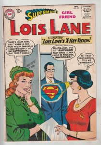 Lois Lane, Superman's Girlfriend  #22 (Jan-61) FN/VF+ High-Grade Superman, Lo...