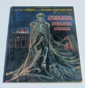 Scream #1 VF- 1973 Skywald Horror Magazine Strange Weird Crazy Frightening