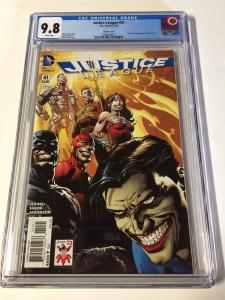 Justice League 41 Joker Variant Cgc 9.8 White