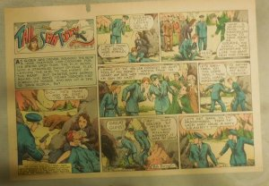 Tailspin Tommy Sunday #481 by Hal Forrest from 1/1/1939 Half Size! Rare!