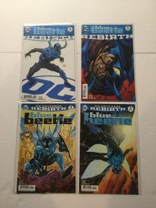 Blue Beetle Rebirth 1 One Shot With Variant 4 Issue Lot Nm Near Mint IK