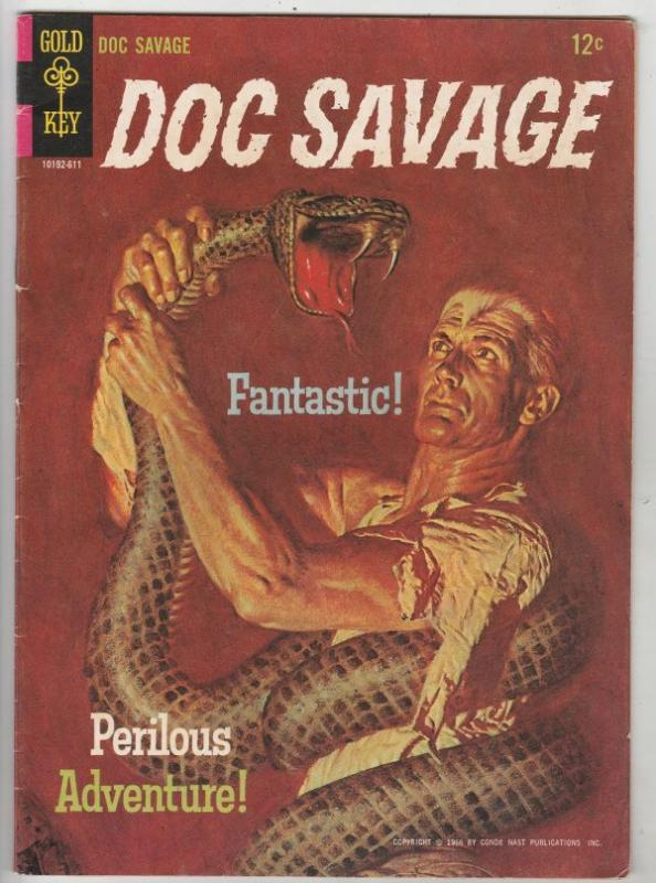 Doc Savage #1 (Nov-66) FN/VF Mid-High-Grade Doc Savage