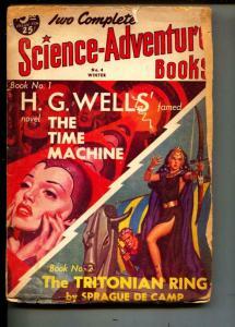 Science-Adventure Books-Pulp-Winter/1951-H. G. Wells-Sprague de Camp