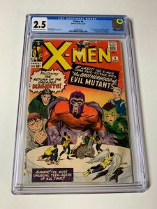 X-men 4 Cgc 2.5 1st Scarlet Witch Quicksilver Marvel Silver Age