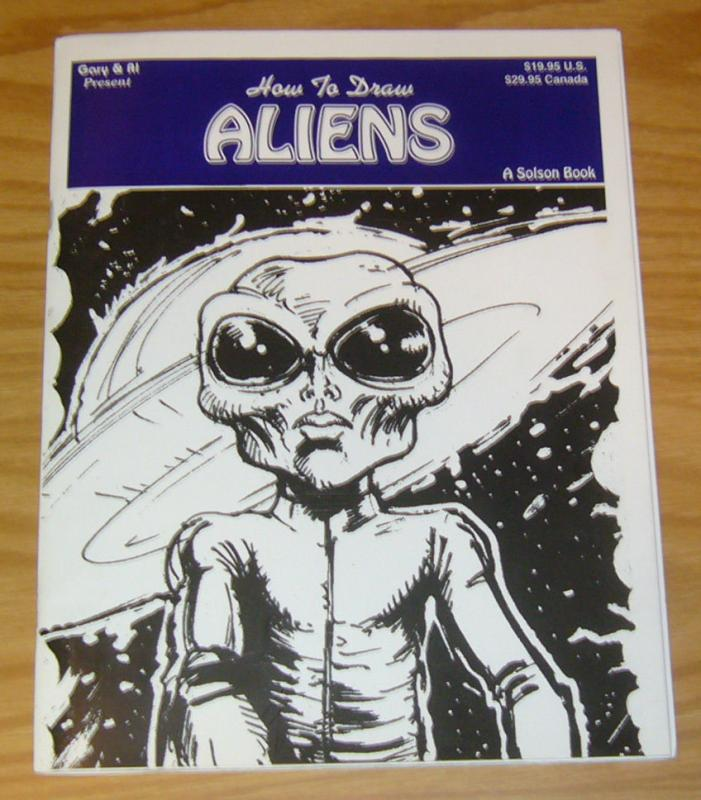 Gary & Al Present How To Draw Aliens SC VF a solson book great sky studios guide