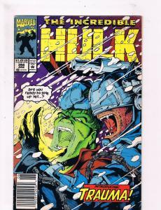 Incredible Hulk #394 VG 1st Print Marvel Comic Book Trauma Avengers Hulk DE3