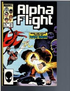 Alpha Flight #31 (1986)
