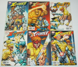 X-Force vol. 2 #1-6 VF/NM complete series - rob liefeld - cable/deadpool set