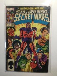 Marvel Super Secret Wars 2 Good Gd 2.0 Marvel