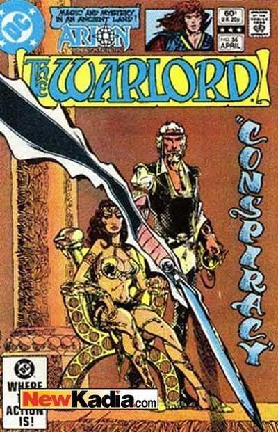 Warlord (1976 series) #56, Fine+ (Stock photo)