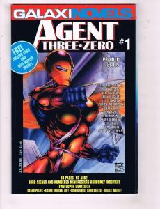 Agent Three-Zero #1 VF Galaxi Novels Comic Book 1993 DE18