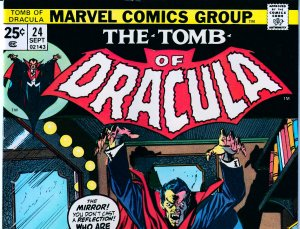 Tomb of Dracula(vol. 1) # 24 Blade The Vampire Hunter