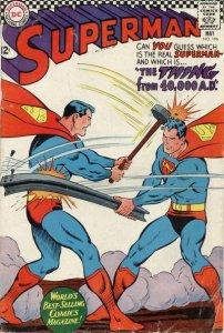 Superman #196 (ungraded) stock photo