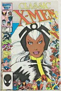 CLASSIC X-MEN#3 VF 1986  MARVEL COMICS
