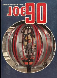 Gerry Anderson's JOE 90 Hardcover 1968- Comic stories FN