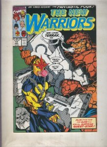 The New Warriors volumen 1 numero 017 (1991)