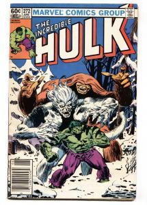 Incredible Hulk #272 1982- 2nd Rocket Raccoon- comic book