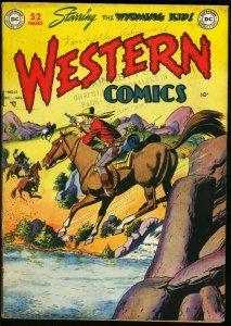 WESTERN COMICS #12-D.C. GOLDEN AGE-1949 VG