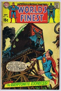 World's Finest #196 Superman Batman ORIGINAL Vintage 1970 DC Comics