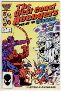WEST COAST AVENGERS #8, NM+, vs Rangers, Iron Man,Thing, more in store