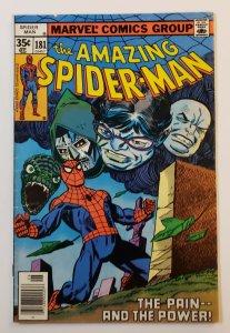 Amazing Spider-Man #181 Marvel Comics 1978 Dr. Doom VG+