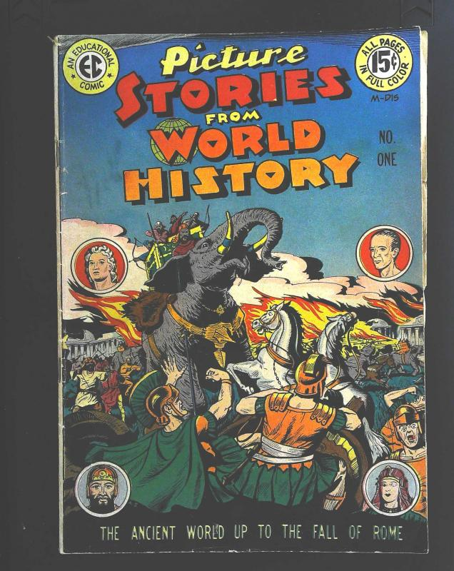 Picture Stories from World History #1, VG (Actual scan)