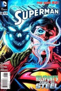 Superman (2011 series) #8, NM (Stock photo)