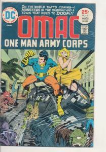 DC OMAC one man army corps #6 Fine (6.0) (680J)