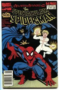 Spectacular Spider-Man Annual #9 Cloak and Dagger comic book NM-
