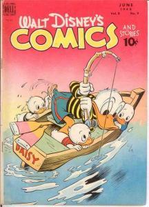WALT DISNEYS COMICS & STORIES 93 G-VG June 1948 COMICS BOOK