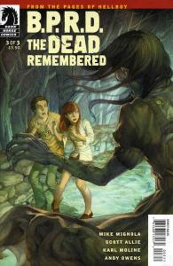 B.P.R.D.: The Dead Remembered #3 VF/NM; Dark Horse | save on shipping - details