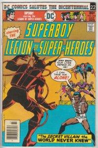 Superboy #218 (Jul-76) VF/NM High-Grade Superboy, Legion of Super-Heroes