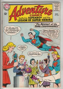 Adventure Comics #326 (Nov-64) FN/VF Mid-High-Grade Legion of Super-Heroes, S...