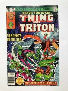 MARVEL Two in one THE THING and TRITON #65 VG/FINE (A295)