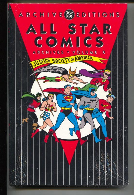 All Star Comics Archives-Vol 8-Golden Age Color Reprints-Hardcover