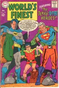 WORLDS FINEST 173 F+   February 1968  1st SA CLAYFACE COMICS BOOK