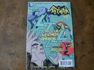 Batman '66 #5 (DC Comics) Classic TV Series Sandman Batgirl