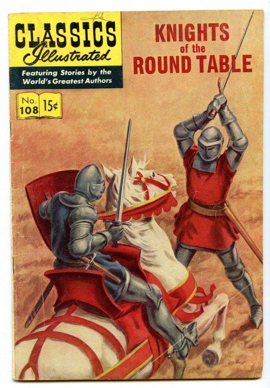 Classics Illustrated 108 (Original) Jun 1953 VG+ (4.5)