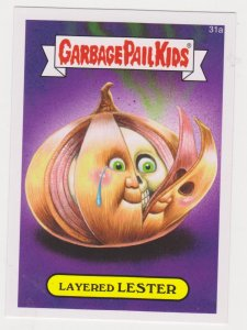 2015 Garbage Pail Kids #31a Layered Lester