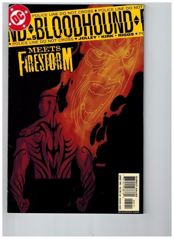 Bloodhound # 5 NM 1st Print DC Comic Book Batman Superman Flash Green Arrow J41