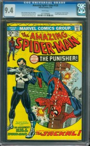 The Amazing Spider-Man #129 CGC Graded 9.4 1st appearance of the Punisher (Fr...
