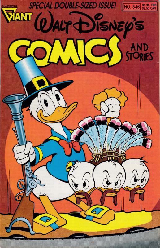 WALT DISNEY'S COMICS Double Size Jan. 1990  Clean