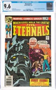 The Eternals #1 (Marvel, 1976) CGC GRADED 9.6