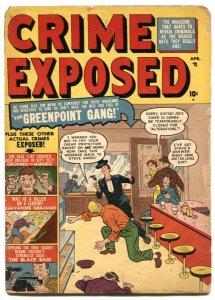 Crime Exposed #3 1951- Golden Age- Tuska FAIR